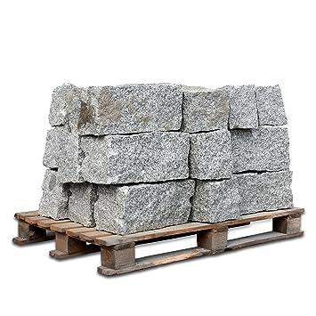PALIGO Granit Maçonnerie Granit Bord Palissade bordure de bord avec ...