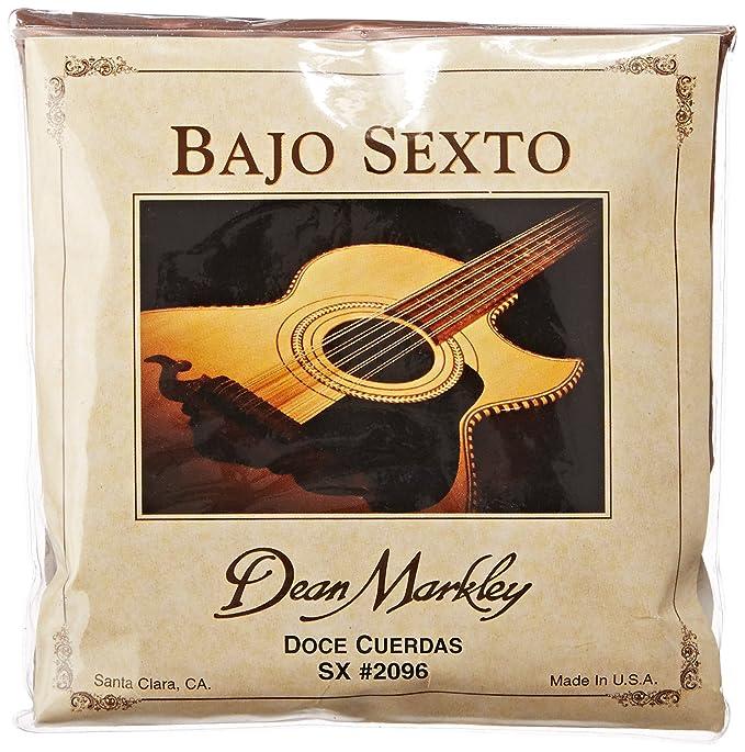 Dean Markley Bajo Sexto Diez Cuerda Guitar Strings, 28-92, 2096