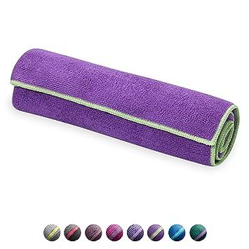 Gaiam Yoga Toallas - 05-62622, Grape/Celery: Amazon.es ...