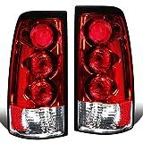For Chevy Silverado/GMC Sierra GMT800 Pair of Chrome Housing Altezza Tail Brake Lights