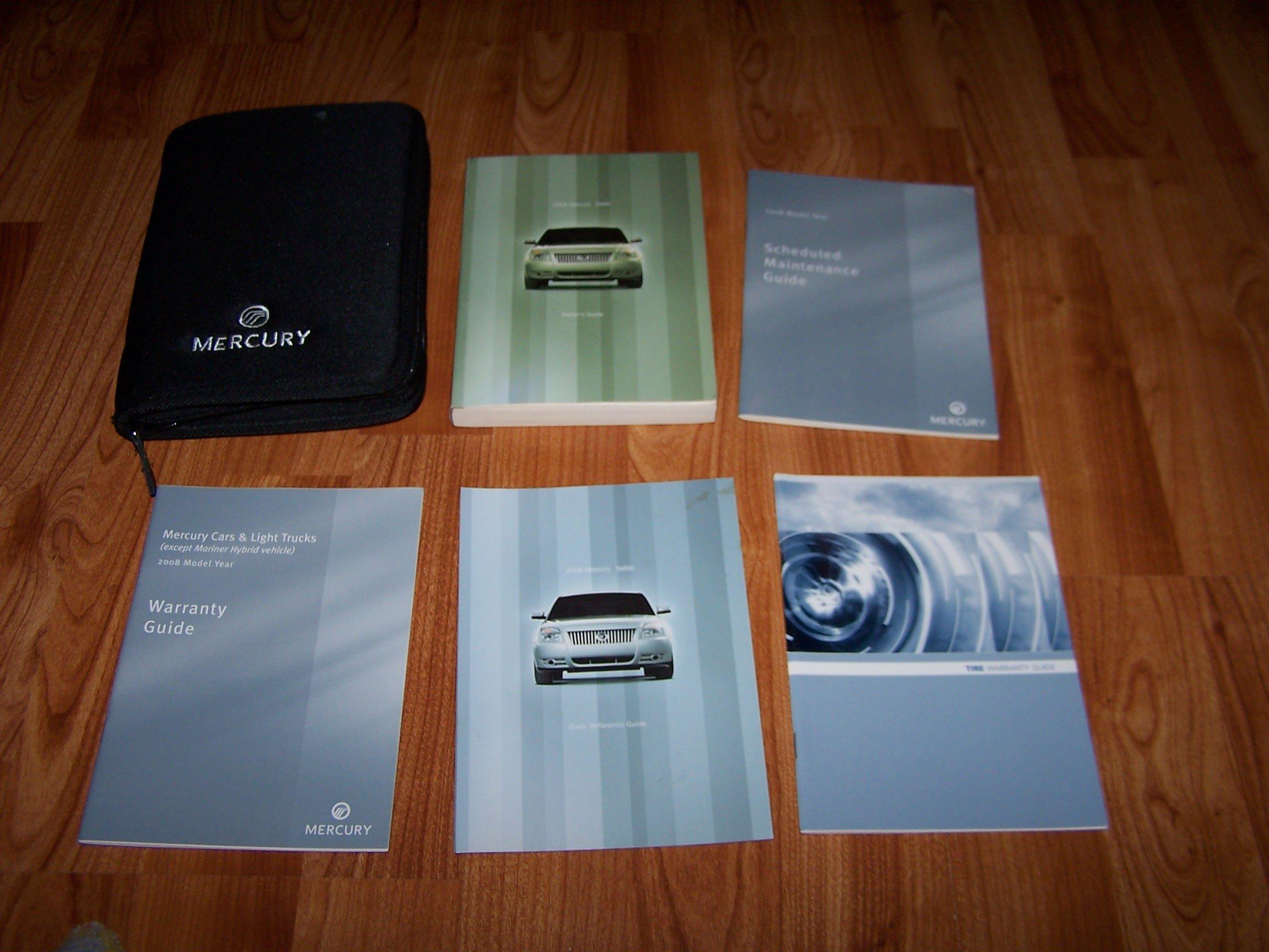 2008 mercury sable owners manual ford lincoln mercury automotive rh amazon com 2005 Mercury Sable 2008 mercury sable service manual