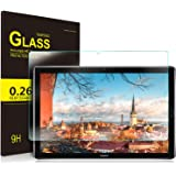 Huawei MediaPad M5 Pro 10.8 ガラスフィルム ELTD Huawei 10.8インチ MediaPad M5 Pro タブレット用 フィルム ファーウェイ 日本素材旭硝子製 気泡ゼロ 指紋防止 硬度9H 耐衝撃 保護フィルム 日本語説明書付き