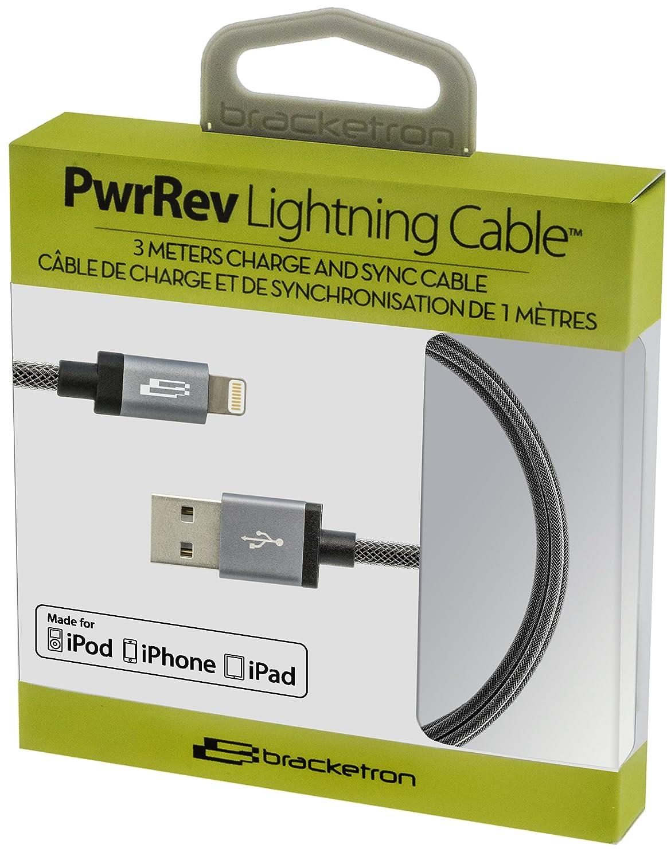 10-Foot BT4-827-2 Bracketron PwrRev Lightning Cable