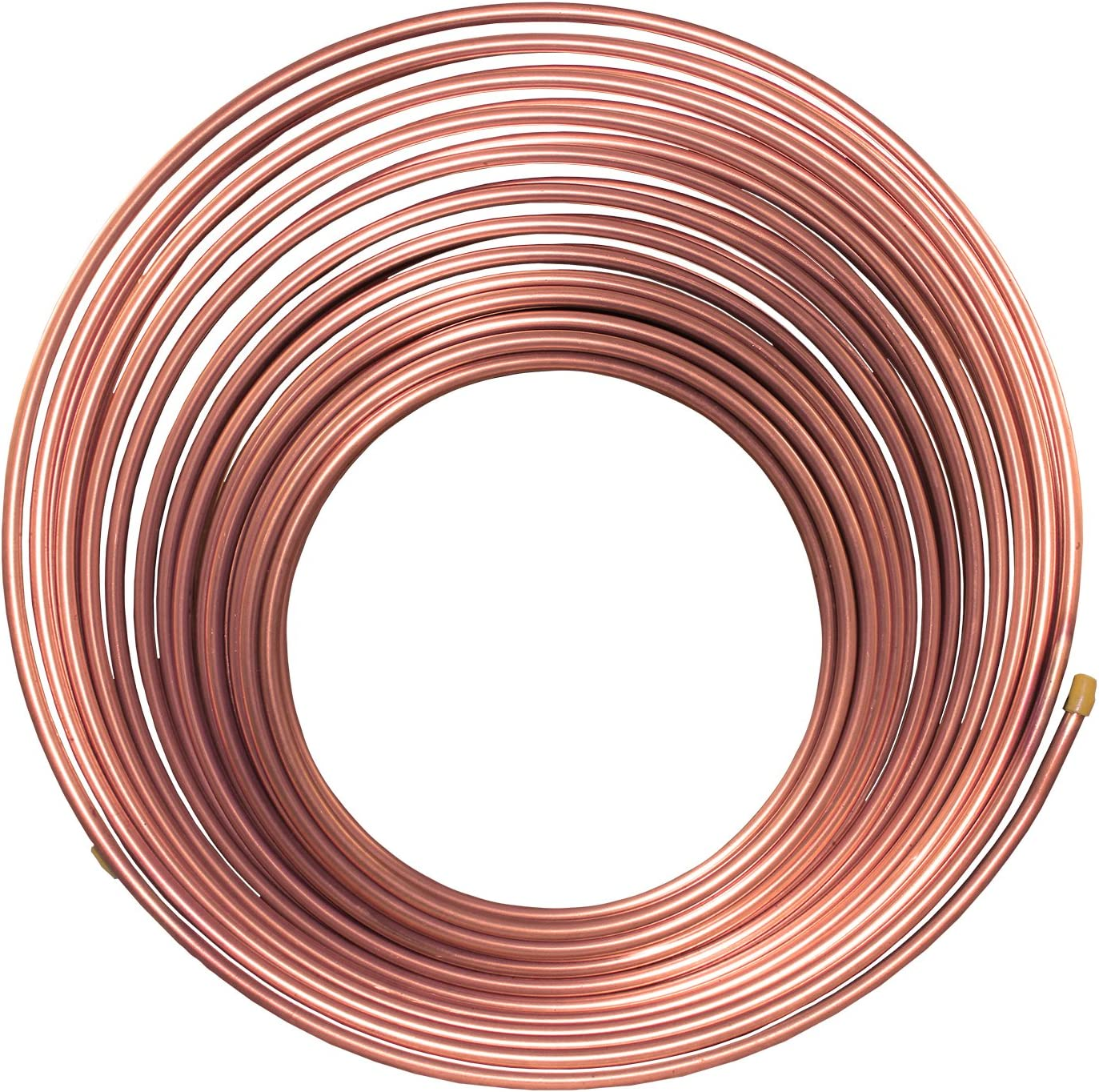 NiCopp Nickel//Copper Brake//Fuel//Transmission Line Tubing Coil 5//16 x 25