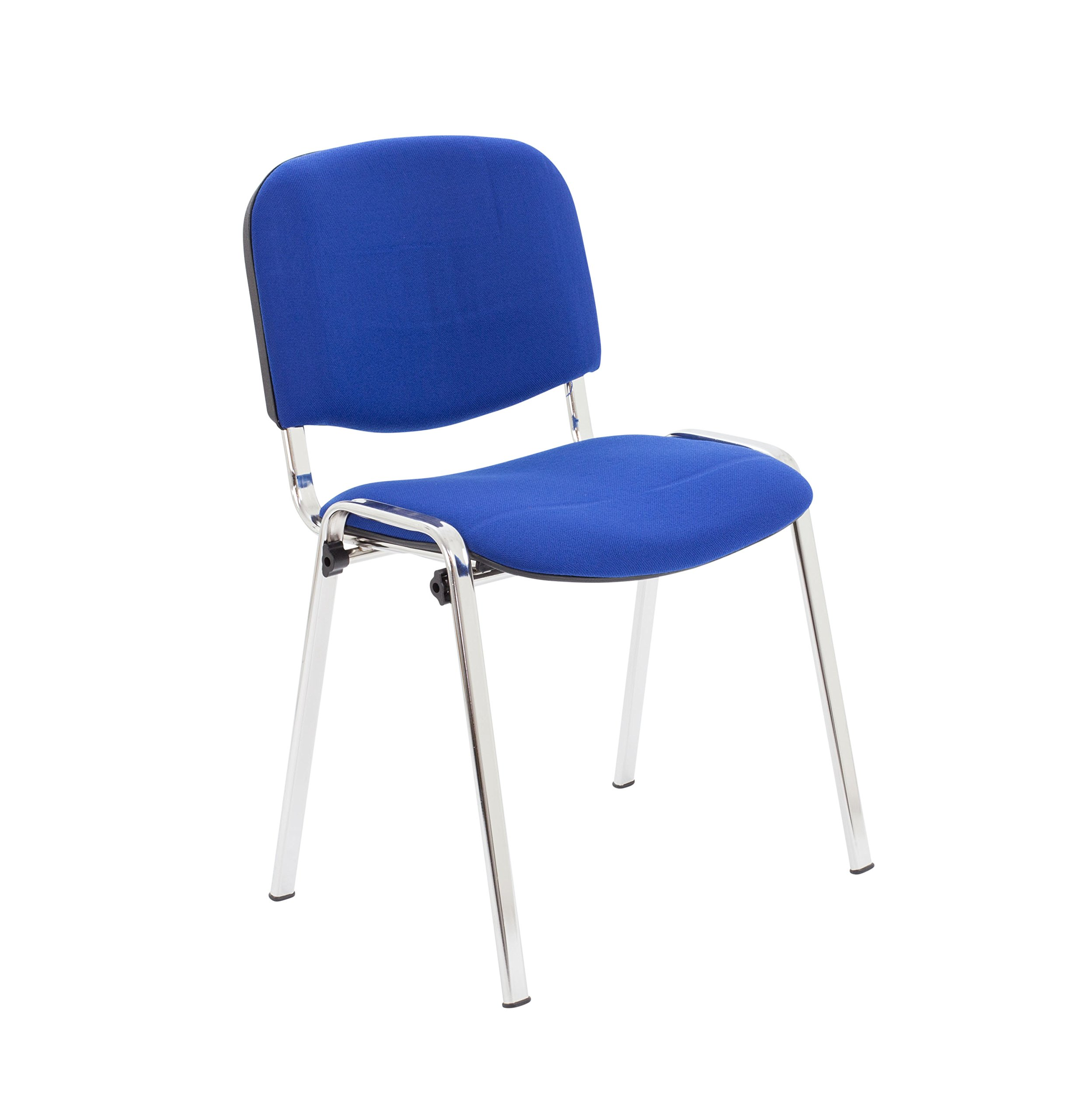 Office Hippo Heavy Duty Stackable Reception Chair - Chrome Frame Royal Blue Fabric  sc 1 st  Amazon UK & Meeting Room Chairs: Amazon.co.uk