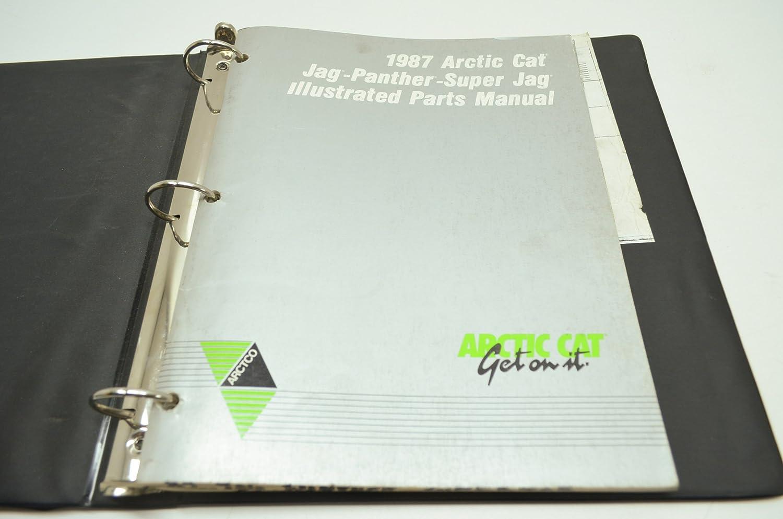Amazon.com: Arctic Cat Factory Parts Manual / 1987 Jag / Panther / Super Jag  / Pt # 2254-353: Automotive