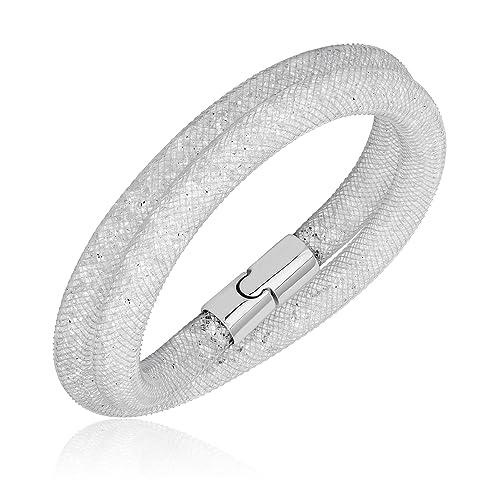 Swarovski Stardust Gray Double Bracelet