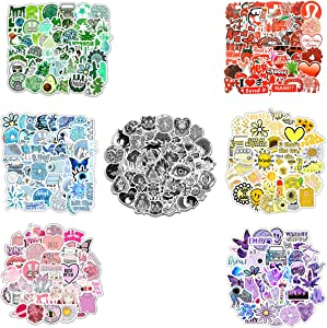 350P Stickers for Children Teens Girls Adults.Fresh and Colorful Sticker | Suitable for Water Bottles Laptops Phones Water Bottles Gift Boxes Waterproof Sunscreen Stickers Can Be Pasted Repeatedly