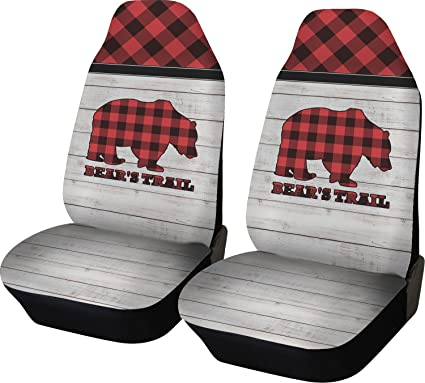 Amazon Com Rnk Shops Lumberjack Plaid Car Seat Covers Set Of Two