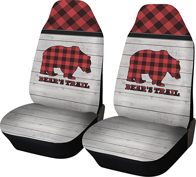 Amazon.com: RNK Shops Lumberjack Plaid Car Seat Covers (Set of Two