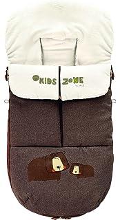 JANE Nest Terrain - Saco para silla de paseo, unisex, color marrón