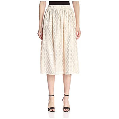 A.B.S. by Allen Schwartz Women's Sheer Midi Skirt at Women's Clothing store
