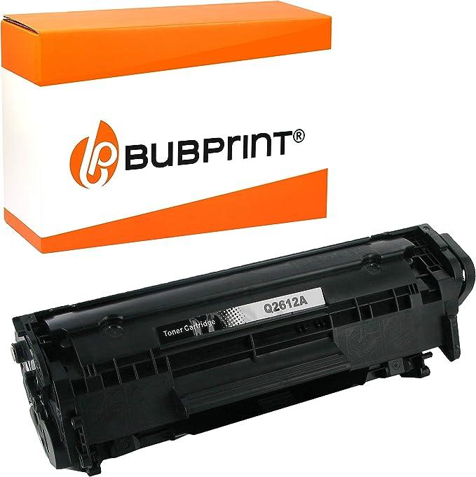 Bubprint Toner Kompatibel Für Hp Q2612a 12a Für Laserjet 1010 1012 1015 1018 1020 1022 1022n 1022nw 3015 3020 3030 3050 3052 3055 M1005 M1319f Mfp Schwarz Bürobedarf Schreibwaren