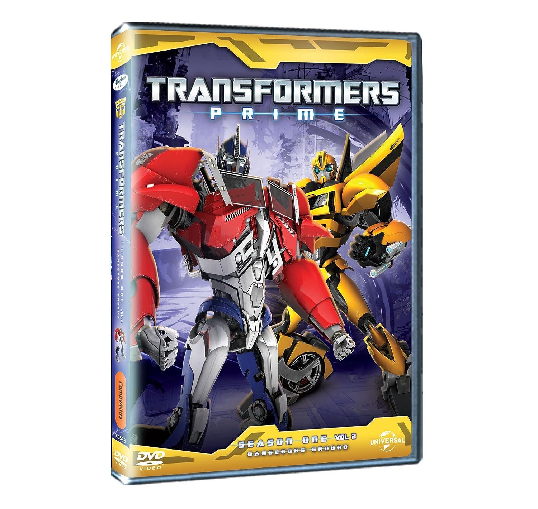 Amazon Buy Transformer Prime Season 1 Vol 2 Dvd Blu Ray