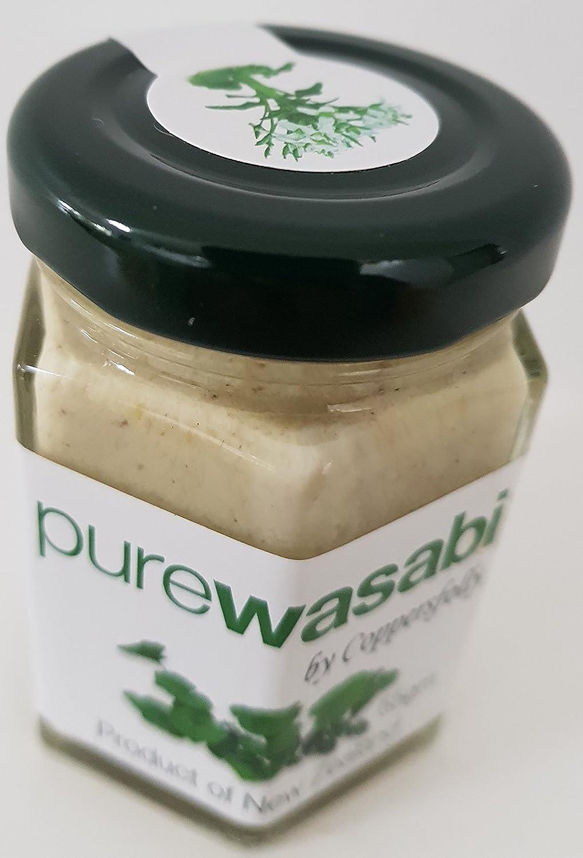 Wasabi - Puro y 100% natural. 100% raíz de wasabi - La mejor del mundo para hacer sushi o sashimi con esterilla o kit. Añadir al arroz o a las algas.