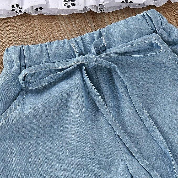 Amazon.com: Conjunto de verano para niña, Jchen para bebés ...