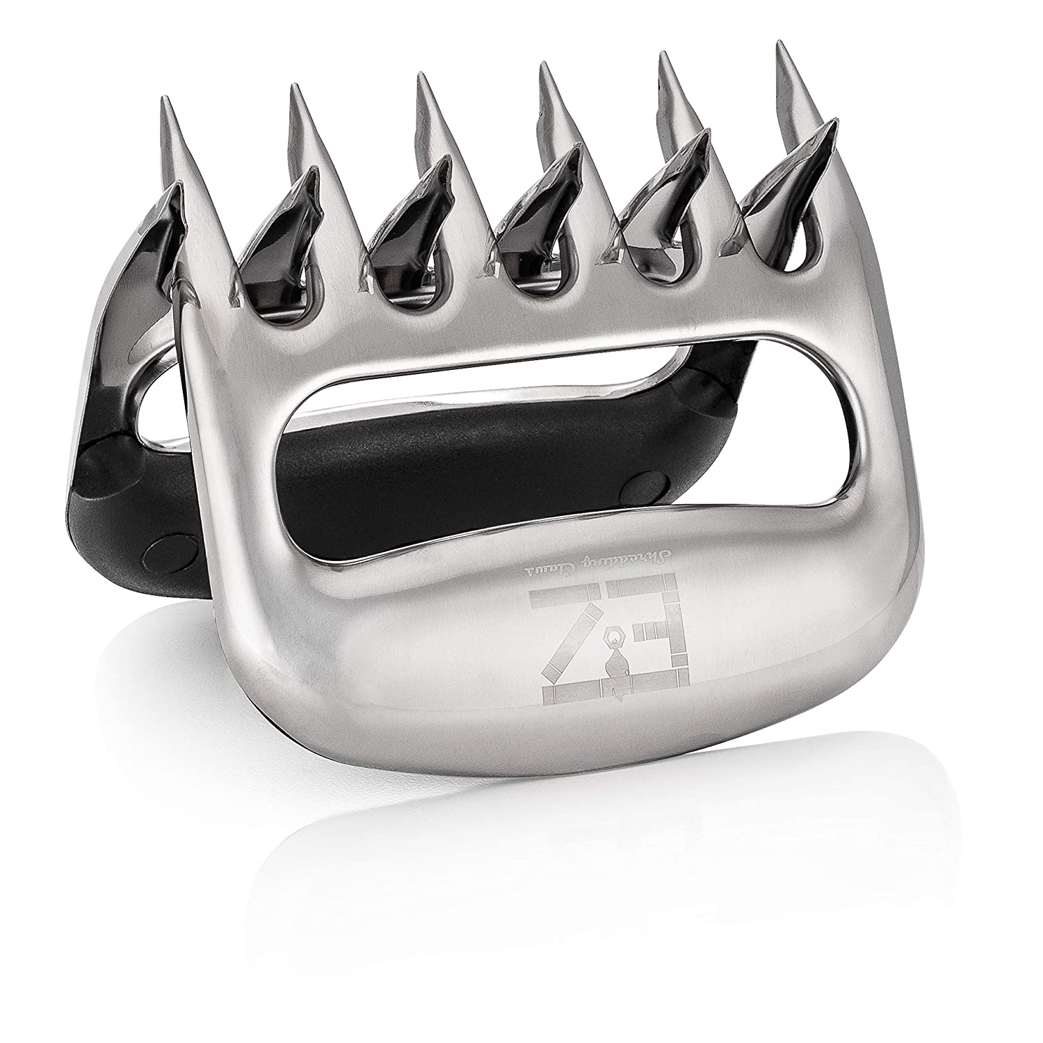B07R11NSRN EZ Shredding Claws BBQFAM Stainless Steel Bear Claw Meat Shredders for BBQ. Perfect for shredding Pulled Pork, Poultry or just handling HOT Bulky Foods. 81Tp9mItaaL