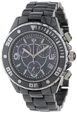 Amazon Swiss Legend Mens Sl 30050 Bkbsr Karamica Collection