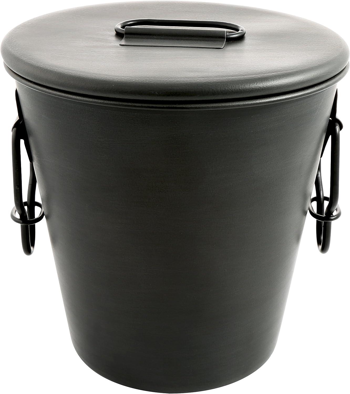 Cambridge Silversmiths , Stainless Steel Dunham Gunmetal Ice Bucket, 3 quart