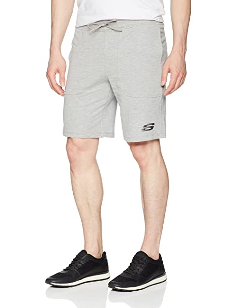 French Terry Short, Light Heather