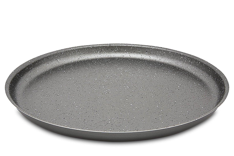 Hergestellt in Italien Menax Focus Aluminium Pizza-Form Durchmesser 30 cm Antihaftbeschichtung Set von 2 Pizzablech