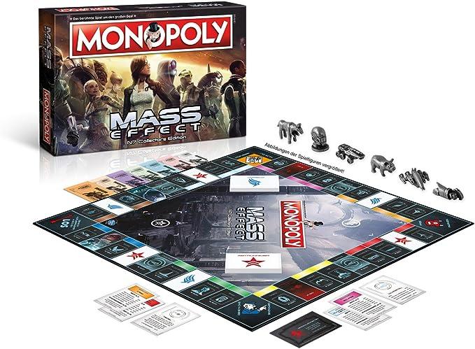 Winning Moves Monopoly Mass Effect Niños y Adultos Simulación económica - Juego de Tablero (Simulación económica, Niños y Adultos, Niño/niña, 8 año(s), Alemán, Alemán): Amazon.es: Juguetes y juegos