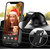 【Ultra Durable】 Car Mount for Phone【4 in 1 & Hands-Free】 Vent Car Mount Holder, GPS Holder for Car Dashboard fit with…