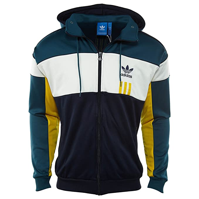 Amazon.com: adidas Men Originals ID96 Hoodie #AY9255 (2XL ...