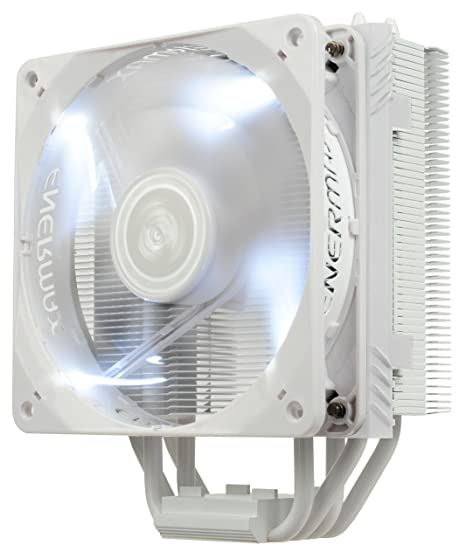 54d852418b2 Amazon.com: Enermax ETS-T40 Fit Outstanding Cooling Performance CPU Cooler  200W Intel/AMD 120mm Dual Cluster Fans Included, LED Fan - White, ETS-T40F-W:  ...