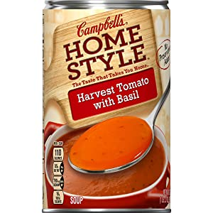 Campbell'sHomestyleHarvest Tomato with Basil Soup, 18.7 oz. (Pack of 12)