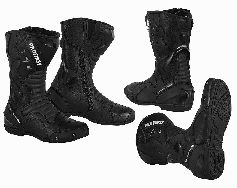 Red L Jacke+Hose+Lange Stiefel+Handschuhe+Sturmhaube PROFIRST EIN voller Satz von wasserdicht Motorrad Motorrad Moped 2 Stuck Anzug in Cordura Stoff und CE-Zertifiziert Rustung