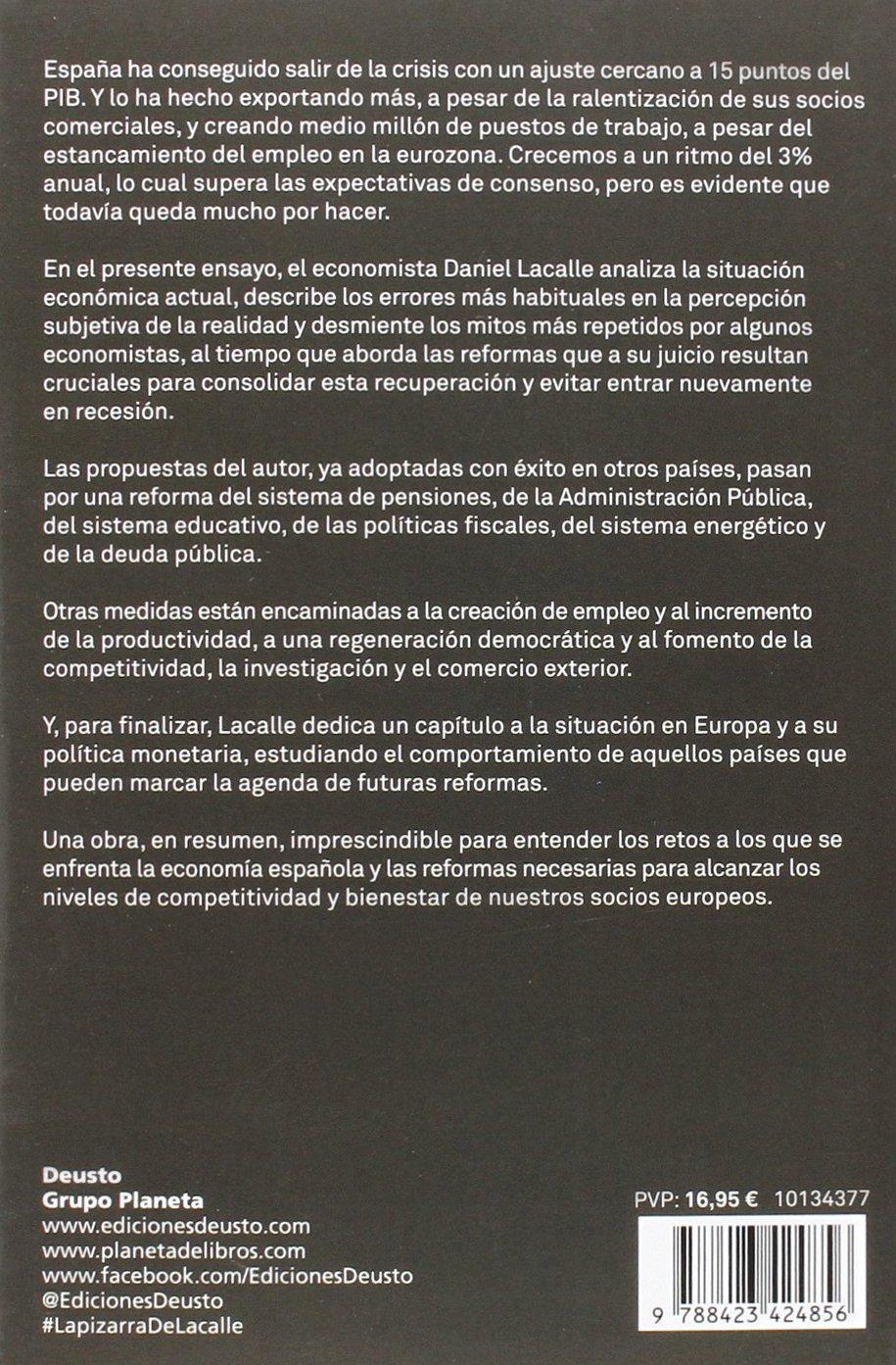 La pizarra de Daniel Lacalle: Las 10 reformas económicas ...