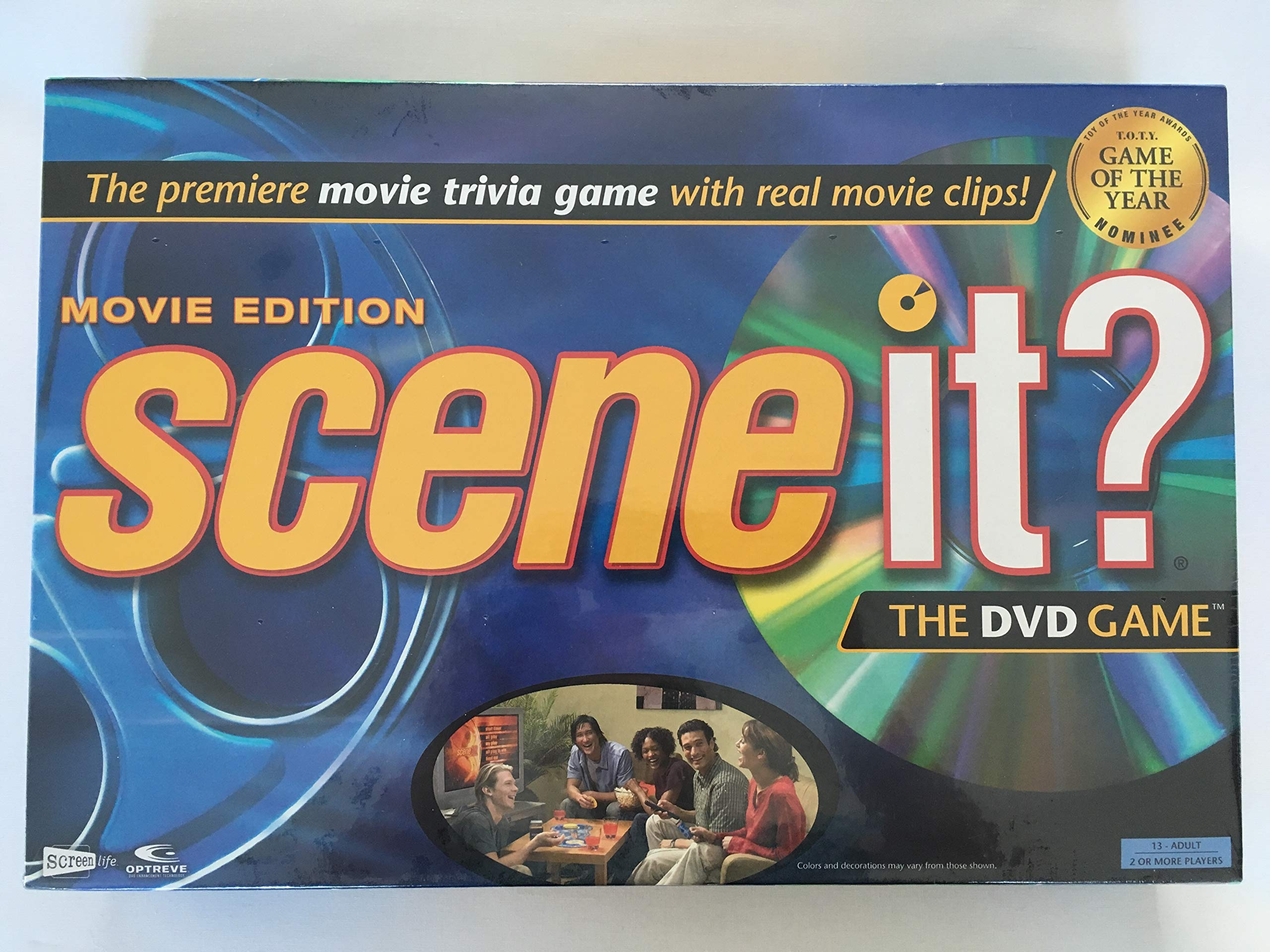 Scene it? Movie Edition DVD Game by Screenlife