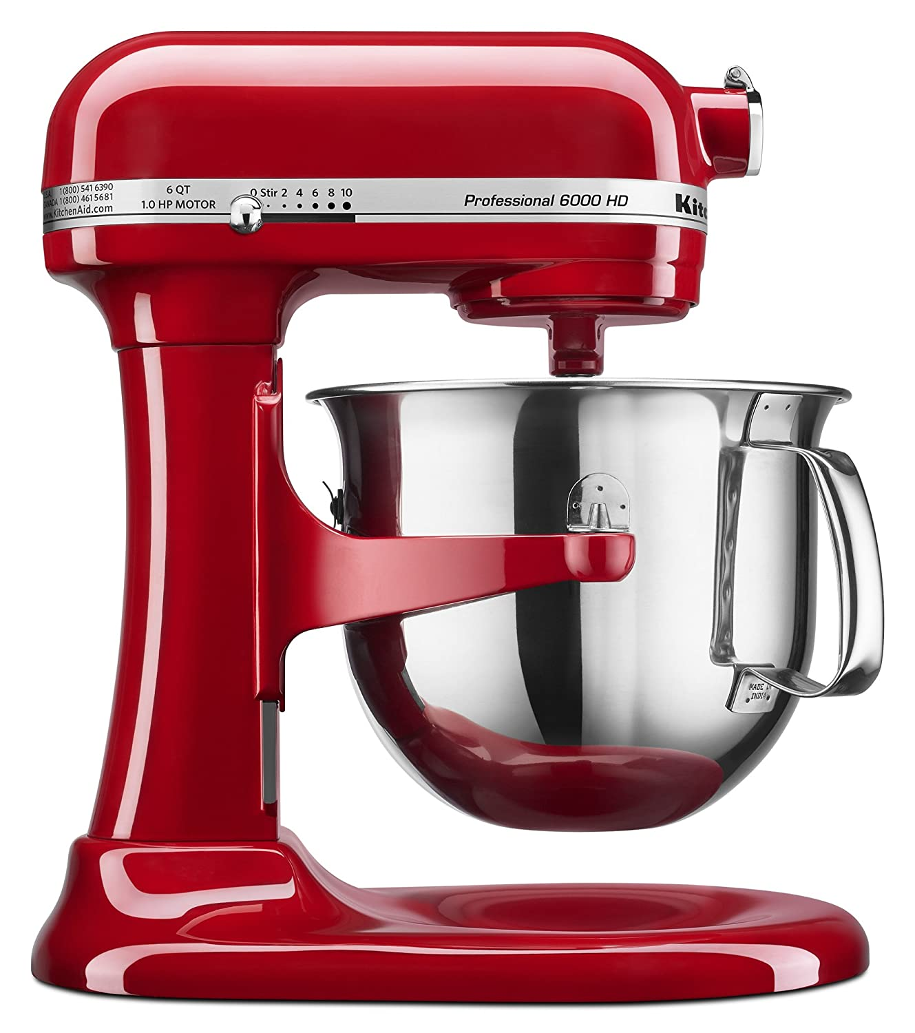 kitchenaid professional 6000 hd ksm6573cer stand mixer 6 quart
