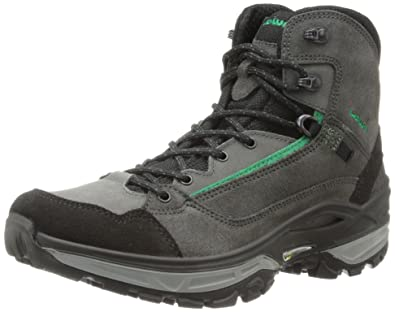 Lowa Men's Tempest Mid Hiking Boot,Graphite/Black,8.5 ...