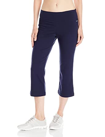 2e6fbaa2afcd7 Jockey Women's Slim Capri Flare Athletic Pant at Amazon Women's Clothing  store: Pants