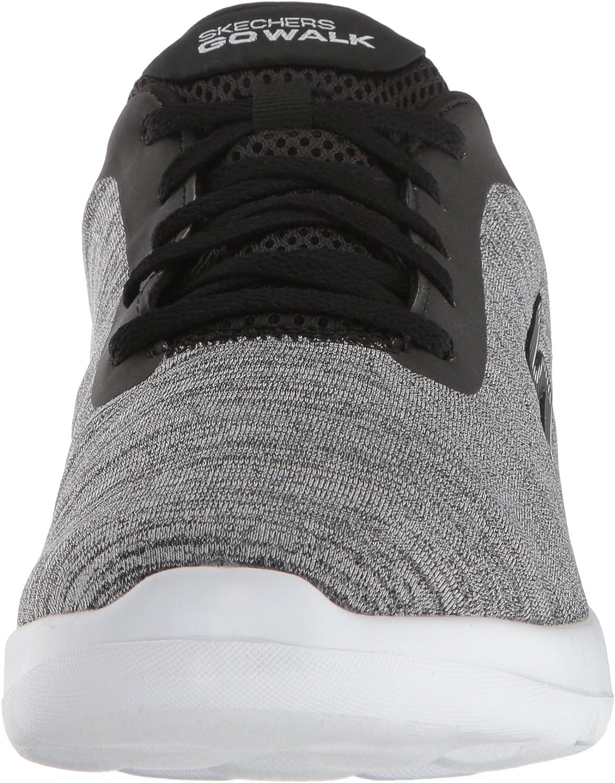 Skechers Women's Go Walk Joy Sneaker Black/White