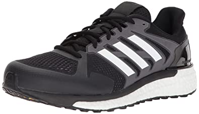 super popular 7434f 39ed5 adidas Performance Men s Supernova ST M Running Shoe, Core Black White Grey  Three