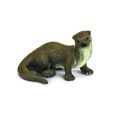 Safari Ltd Wild Safari North American Wildlife River Otter: Toys & Games