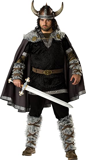 Disfraz de Vikingo para hombre talla grande: Amazon.es: Juguetes y ...