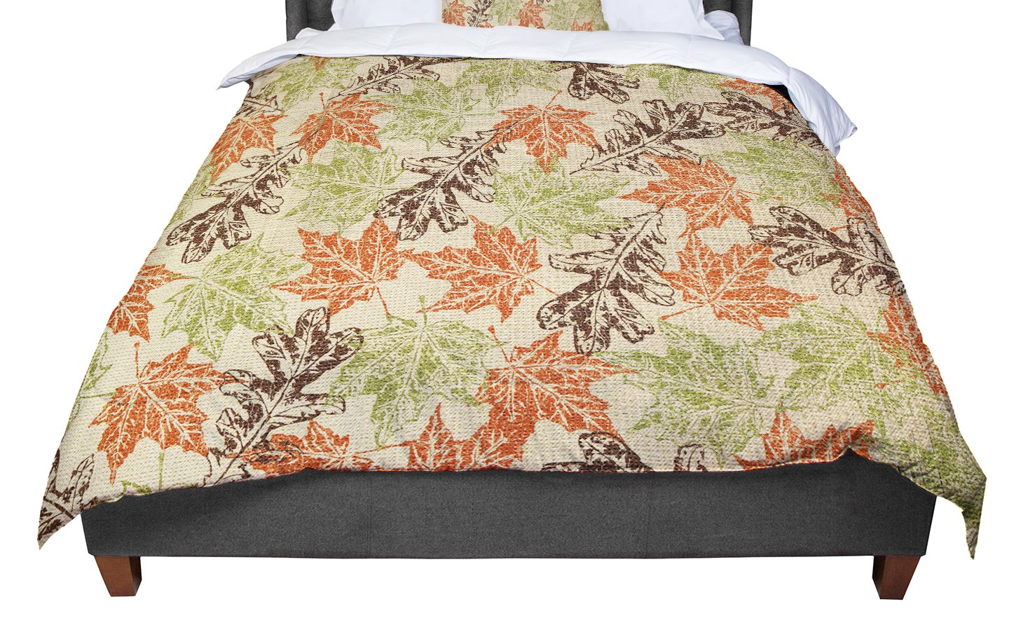 104 x 88 104 x 88 Kess InHouse Nic Squirrell Wild Meadow King Cotton Duvet Cover