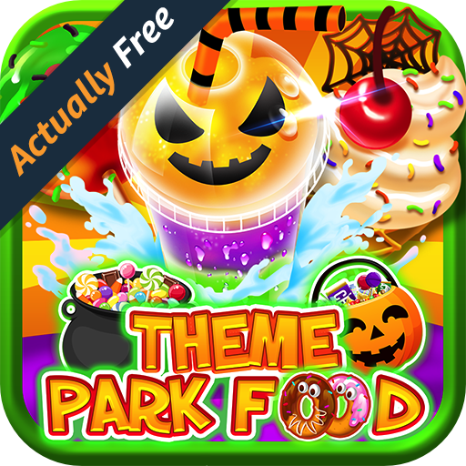 Halloween Theme Park Fair Food Maker FREE GAME – Make Dessert Foods, Amusement Parks Candy Pizza, Pumpkins, Ghosts, Toy Prizes, Zombie Carnival Games in Kids Bake & Cook Chef Game for Boys & Girls (Fun Halloween Cupcakes And Cakes)