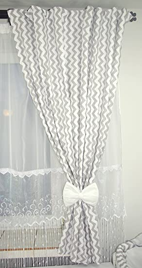 Baby's Comfort NURSERY BABY CURTAINS WITH TIE BACKS (12 NEWEST ...