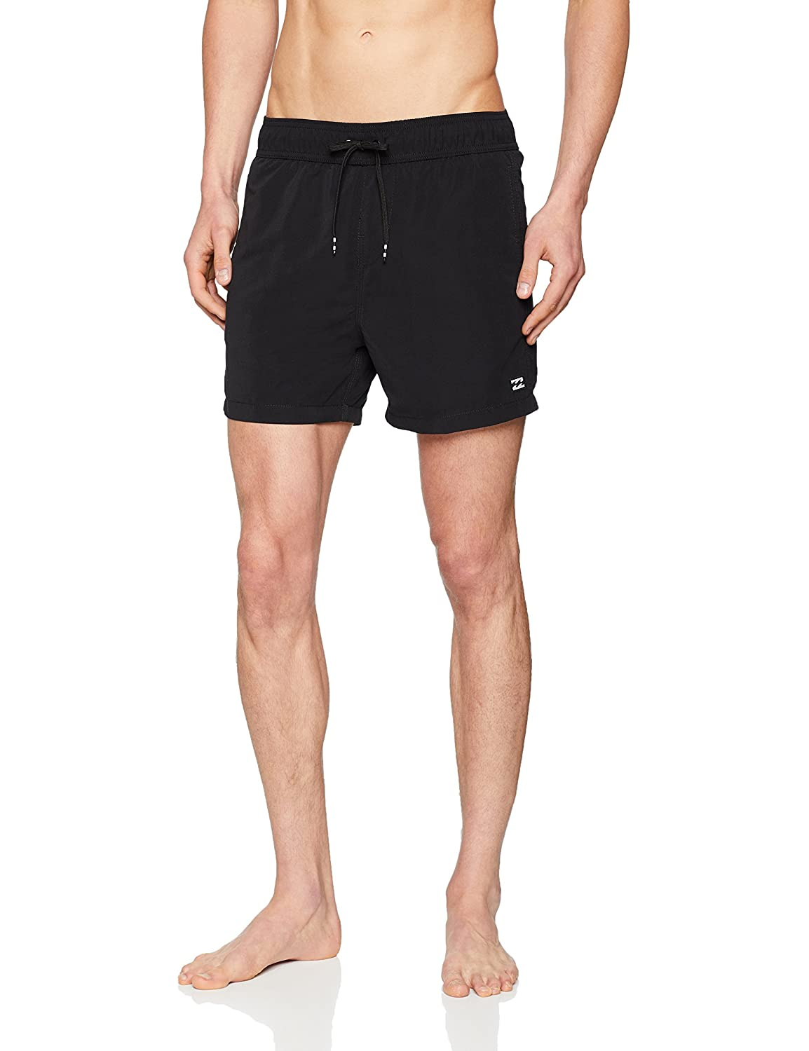 488640ed7ab83 Billabong All Day Layback 16 inch Boardshorts - Soft Surf Suede Fabric and  Elasticated Waist Black,Small: Amazon.co.uk: Sports & Outdoors