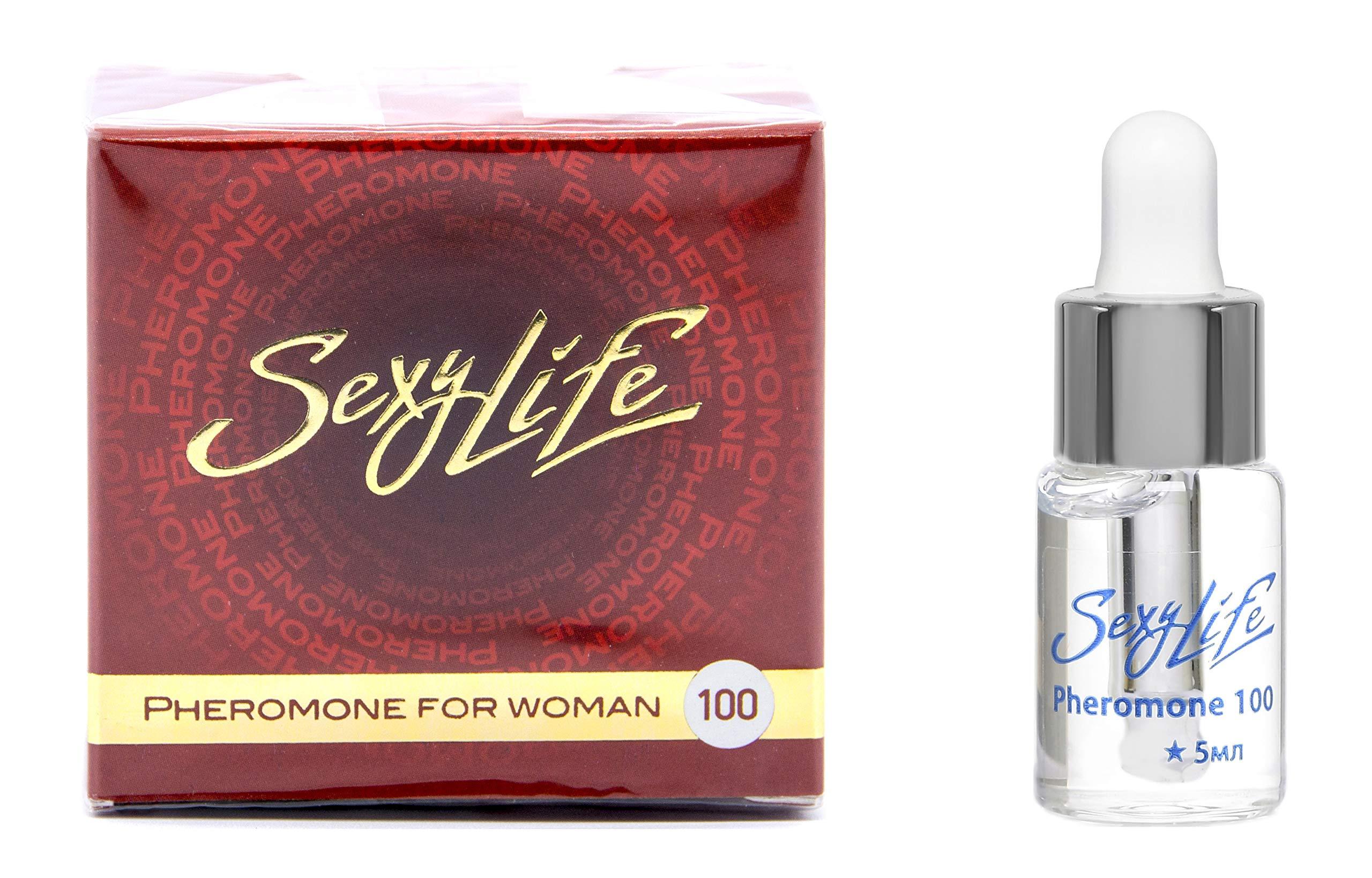 Sexy Life Pheromones for Women Pheromone Perfume [Attract Men] - Extra Strength Human Pheromones 100 Percent Concentrate, Harmony of Aphrodisiacs & Pheromone (5ML Concentrate)
