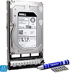 Dell 400-ALCR 6TB 7.2K SAS 12Gb/s 3.5-Inch Hard Drive in G13 Tray Bundle with Compatily Screwdriver Compatible with C5G97 NWCCG 400-AHFM 0NWCCG 8D1V4 PRNR6 400-AFNY 400-ANSC 400-AKMJ 400-AKKU
