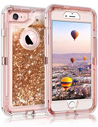 Amazon.com: Coolden - Carcasa para iPhone 8 y 7 (doble capa ...