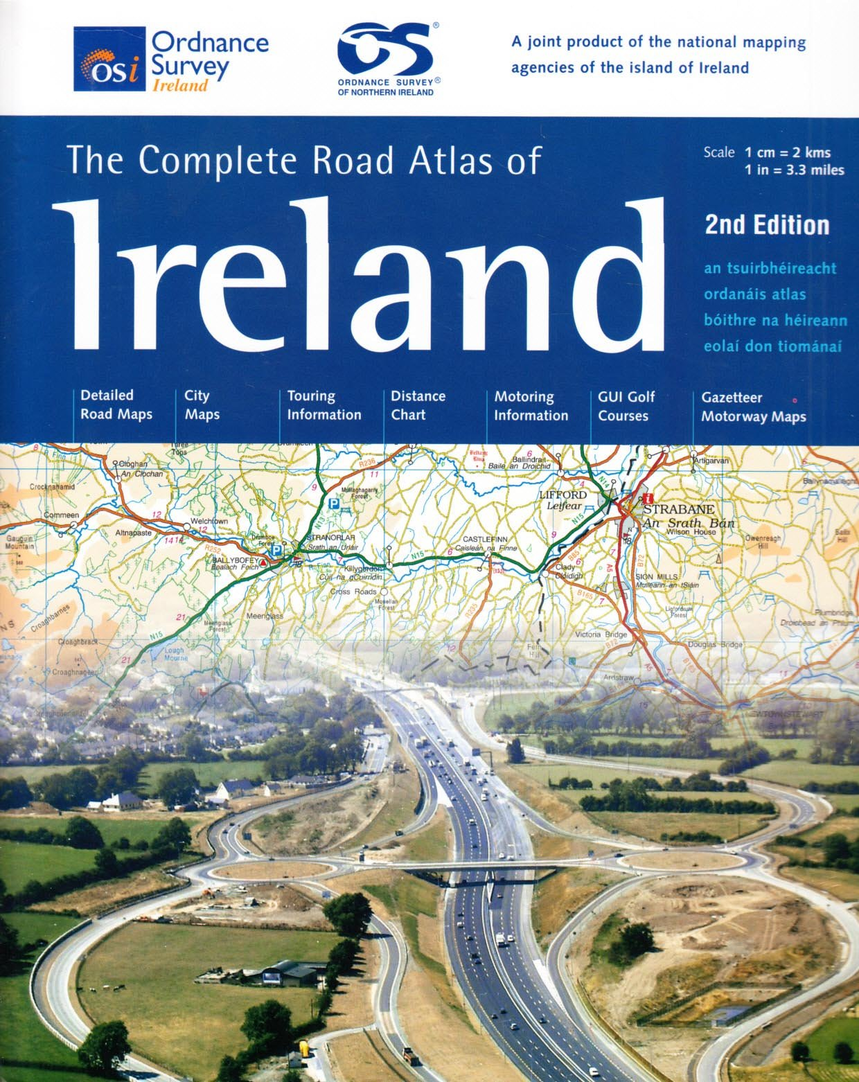 complete road atlas of ireland irish maps atlases and guides