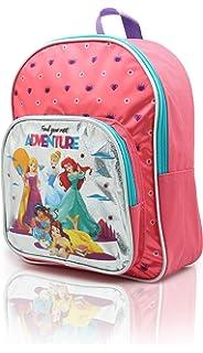 f66f8d50f96 Disney Princess Backpack for Girls Belle Cinderella Ariel Jasmine Rapunzel  School Bag for Girl…