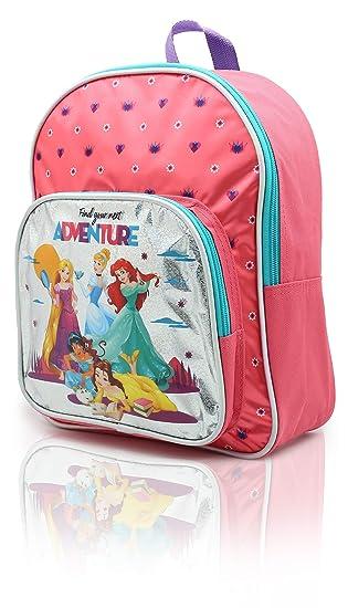 Mochila Princesas Disney para Niñas Mochilas Infantiles La Sirenita Cenicienta Bella Jasmine Rapunzel: Amazon.es: Equipaje